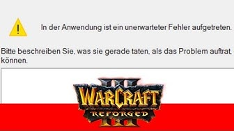 Unerwarteter Fehler - Warcraft 3: Reforged 2v2 [Deutsch | German]