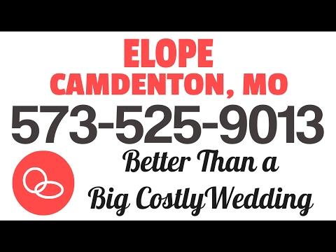 Elope Camdenton MO |  573-525-9013 | 65020