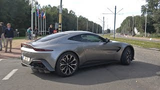 Supercars Accelerating! Aston Martin, Bugatti Chiron, GT2RS, Carrera GT