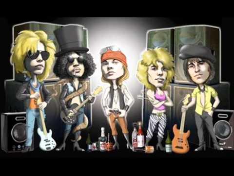 Guns n Roses sweet child of mine animação - YouTube