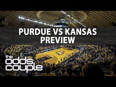 Purdue vs Kansas | The Odds Couple | College Basketball Picks With Joe Gavazzi