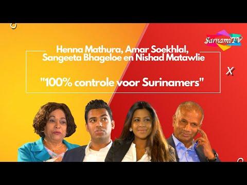 """SarnamiTV Talkshow 7: """"100% controle voor Surinamers"""""""