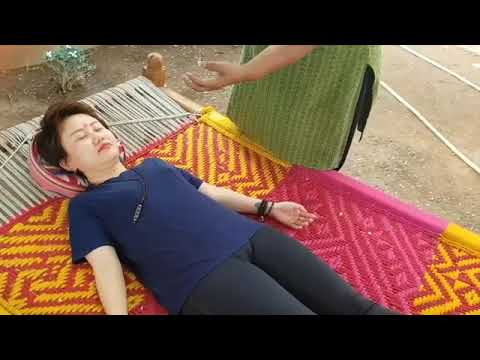 Reiki Healing with Chakras using Crystal Dowser