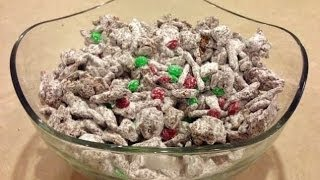 Reindeer Treats (Chocolate and Peanut Butter Munchies)
