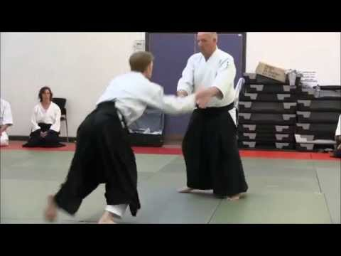Randori ~ Iwama Aikido (Tony Sargeant Sensei w/ David Law)