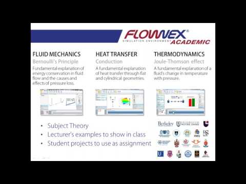 Webinar | Flownex SE modernizes thermal fluid courses for Academic institution
