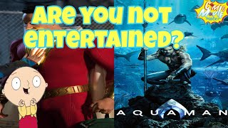 DCEU News-Aquaman Poster and More Official Photos Of Shazam!