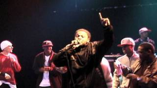Cuttin It Up - Husalah ft  B Luv, and The Jacka Live