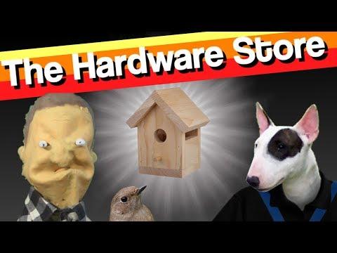 EUGENE GOES TO THE HARDWARE STORE