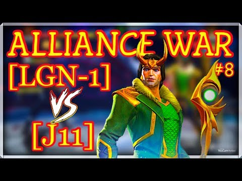 Alliance War: [LGN-1] vs [J11] - Blade.Spark.Ghost R - Marvel Contest Of Champions