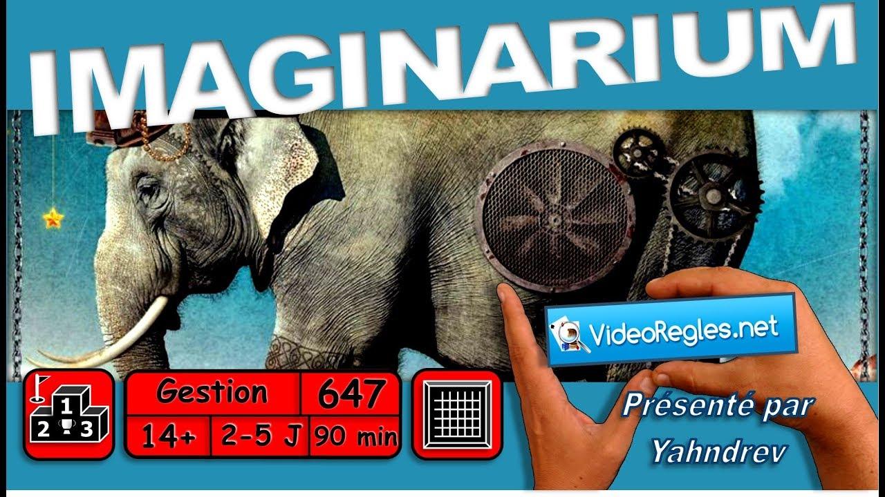 Vidéorègle Jeu de Société IMAGINARIUM par Yahndrev (#647)