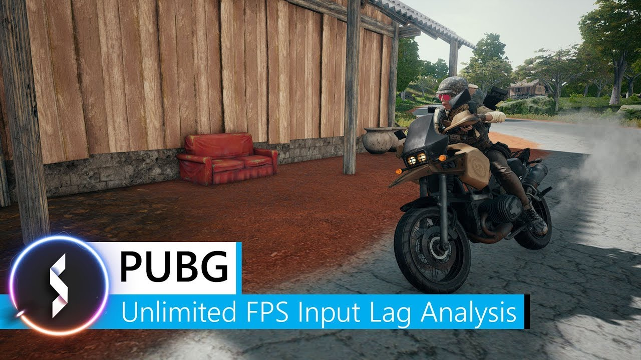 PUBG Unlimited FPS Input Lag Analysis