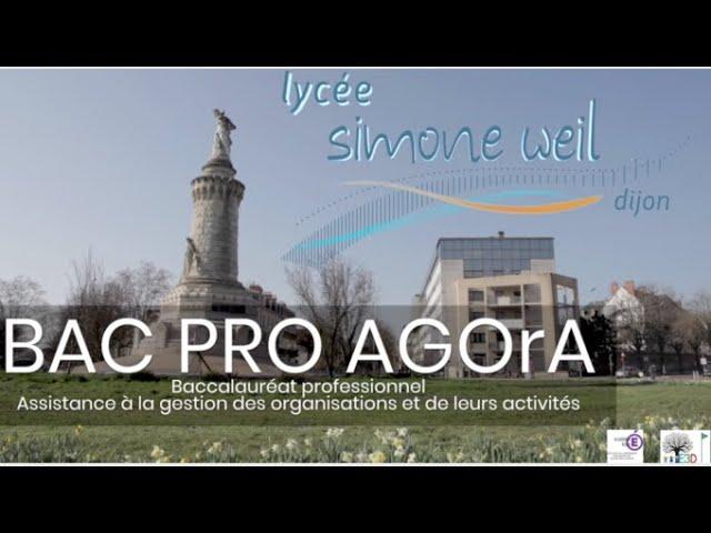 Bac Pro AGOrA en vidéo