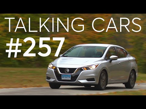 2020 Nissan Versa Test Results; How Ride Height Affects Crash Safety | Talking Cars #257