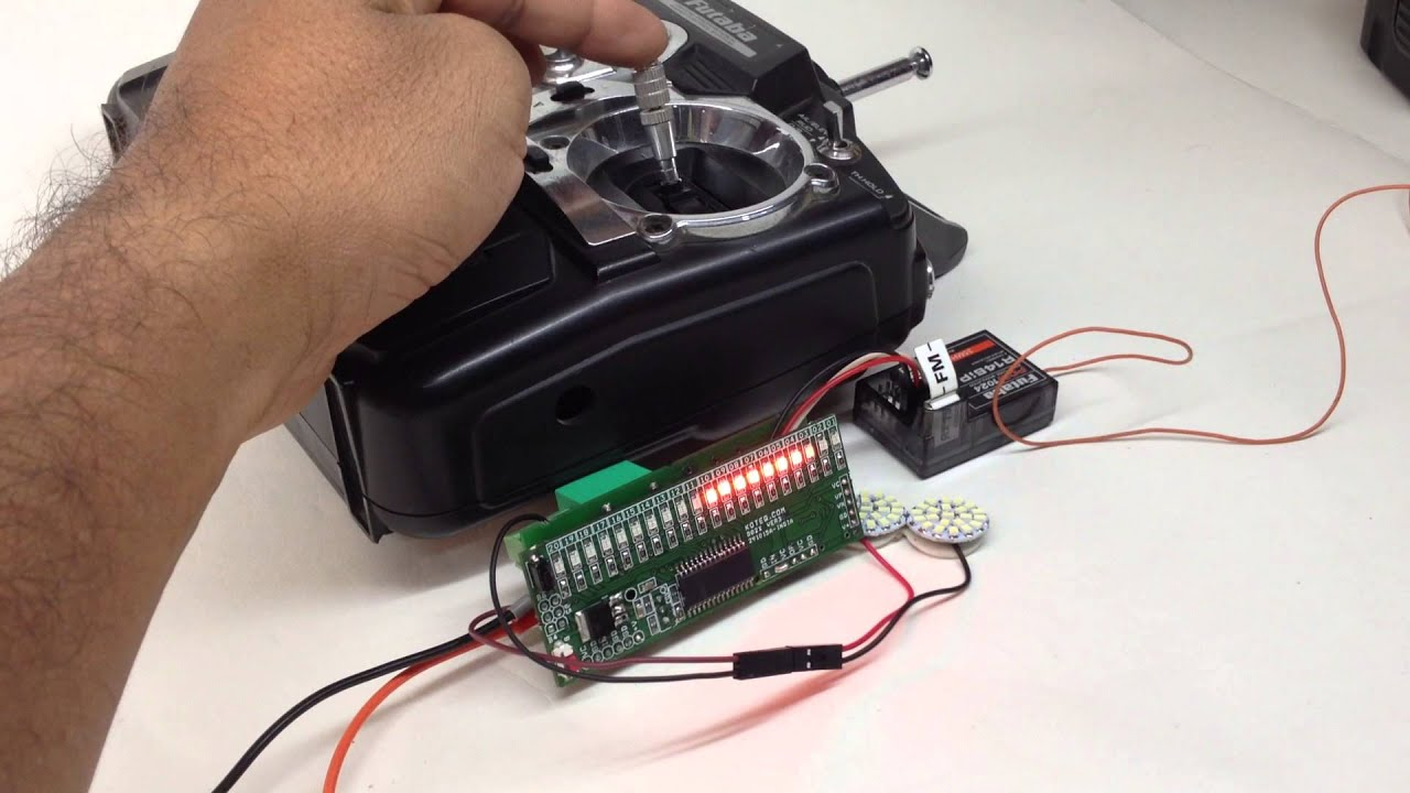 RC Signal To Switch With Relay Output YouTube - Rc car relay switch