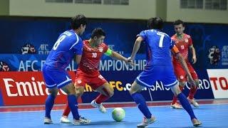 CHINESE TAIPEI VS TAJIKISTAN: AFC Futsal Championship 2016 (Group Stage)