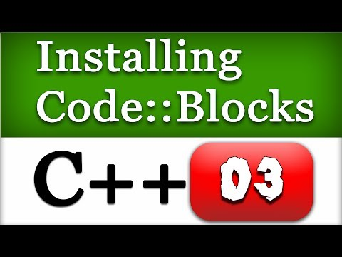 03 | Installing Code Blocks IDE with Compiler for C and C++