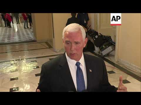 Thumbnail: Pence: Trump made right decision on Comey