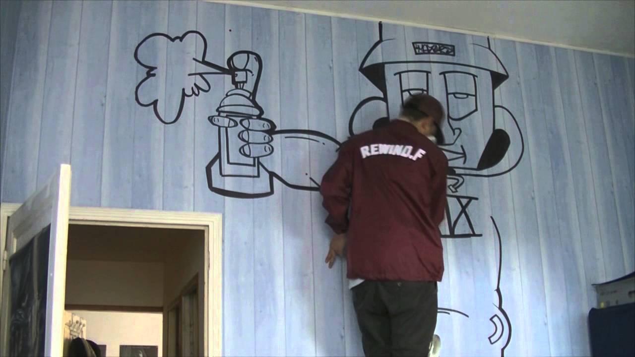 GRAFFITI BEDROOM   EP1   YouTube