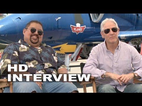 "Planes: Carlos Alazraqui ""El Chupacbra"" & Gabriel Iglesias ""Ned / Zed"" Official Junket Interview"