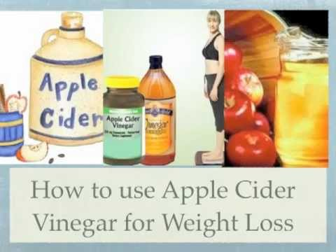 The use of apple cider vinegar in weight loss