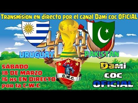 Uruguay vs Pakistan EN DIRECTO por la C.W.C