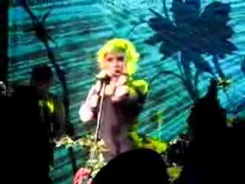 Debbie Harry live Irving Plaza You're Too Hot