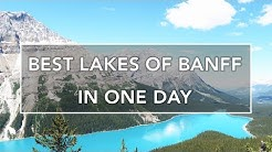 HOW TO SEE BEST LAKES OF BANFF IN ONE DAY!