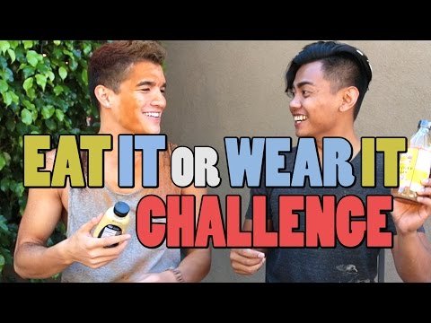EAT IT OR WEAR IT CHALLENGE!
