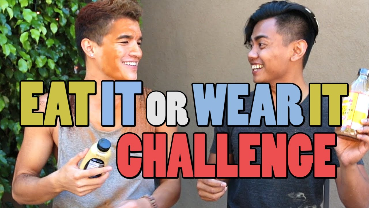 eat it or wear it challenge youtube