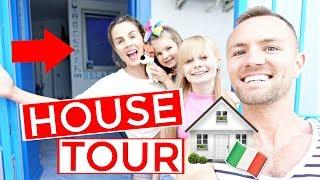 OUR LUXURY iTALiAN HOUSE TOUR **surprise room!**