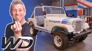 Jeep CJ-7 Renegade: How To Separate The Body From The Chassis | Wheeler Dealers