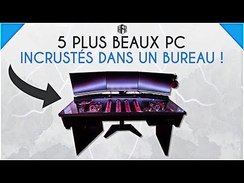 5 plus beaux pc incrust s dans un bureau youtube for Bureau pc gamer