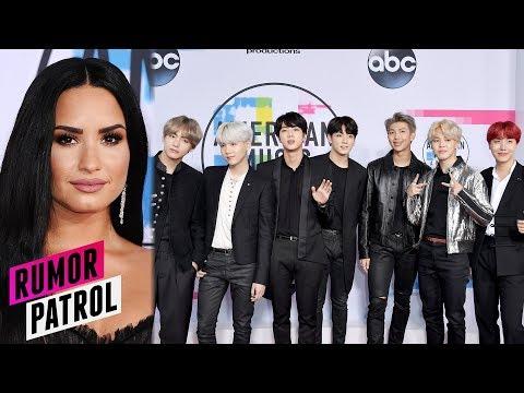 Demi Lovato SHADED & Bullied BTS After AMAs?! (Rumor Patrol)