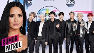 Demi Lovato SHADED & Bullied BTS After AMAs?! (Rumor Patrol)