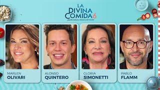 La Divina Comida - Marlen Olivari, Alonso Quinteros, Gloria Simonetti y Pablo Flamm