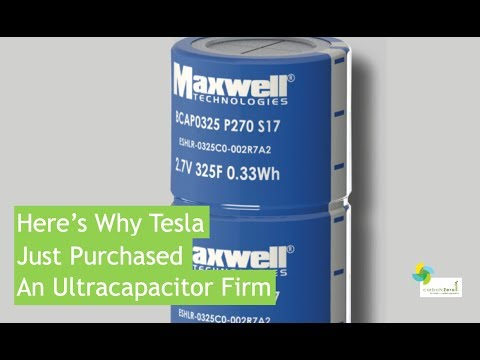 Here's Why Tesla Just Purchased An Ultracapacitor Firm - YouTube