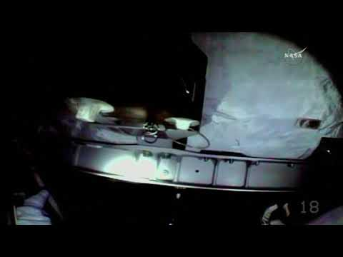Astronauts go for spacewalk to repair ISS