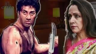 जब Sunny Deol करने जा रहे थे Hema Malini पर चाकू का हमला....