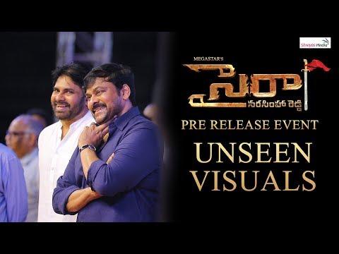 Sye Raa Pre Release Event Unseen Visuals | Chiranjeevi | Pawan Kalyan | Ram Charan | Shreyas Media |
