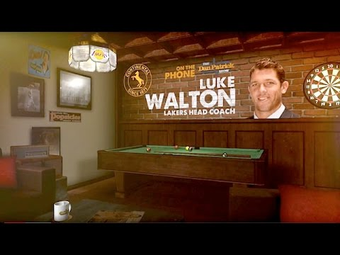 Lakers Head Coach Luke Walton Says If Lakers Tanked, Having a Hippy Dad, LaVar Ball & More