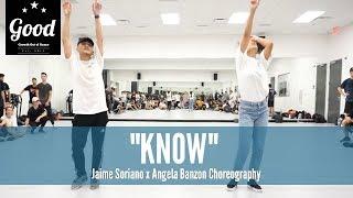 syd   know jaime soriano x angela banzon choreography good fridays