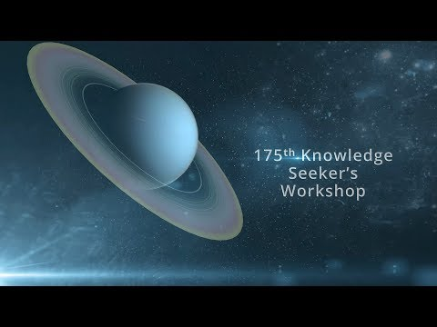 175th Knowledge Seekers Workshop June 8, 2017