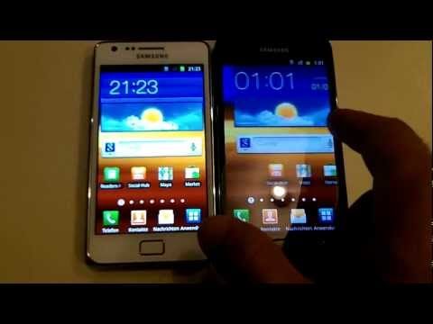 Samsung Galaxy S2 LTE Kurztest