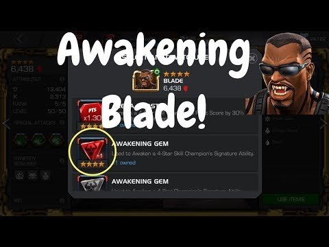 Awakening Blade! Marvel Contest Of Champions
