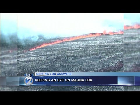 New sensors will help monitor activity as scientists say Mauna Loa