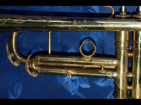 The C G  Conn 22B Symphony trumpet