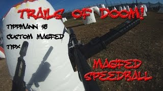 MagFed Speedball Paintball Tippmann Tipx 98 Custom Mag Fed adapter 12 round TruFeed