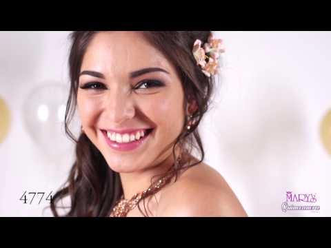 Mary's Bridal Quinceanera Gown Spring 2017 Video and Slideshow