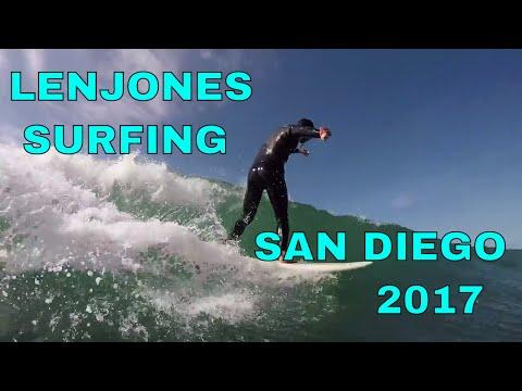 Surfing San Diego 2017